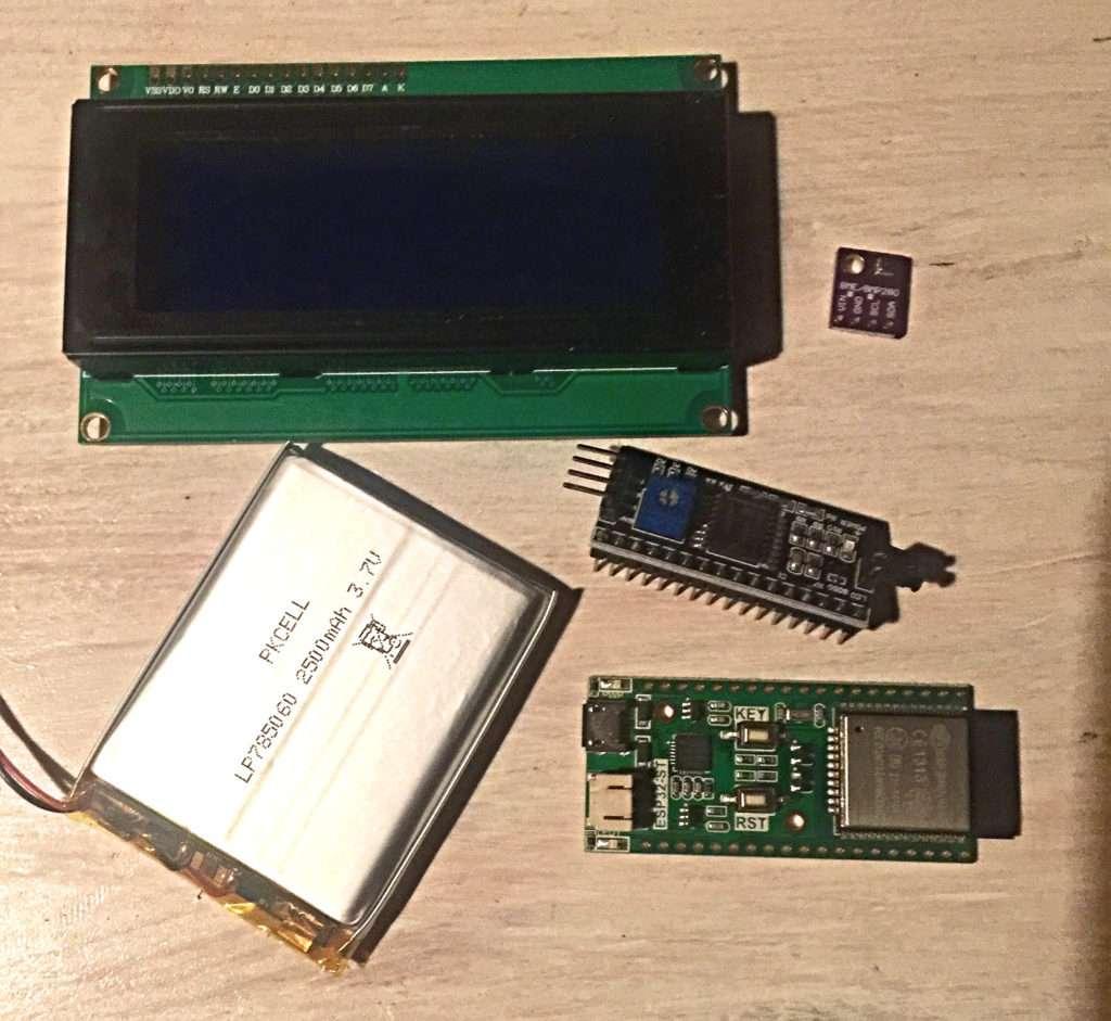 ESP32 mit BME280